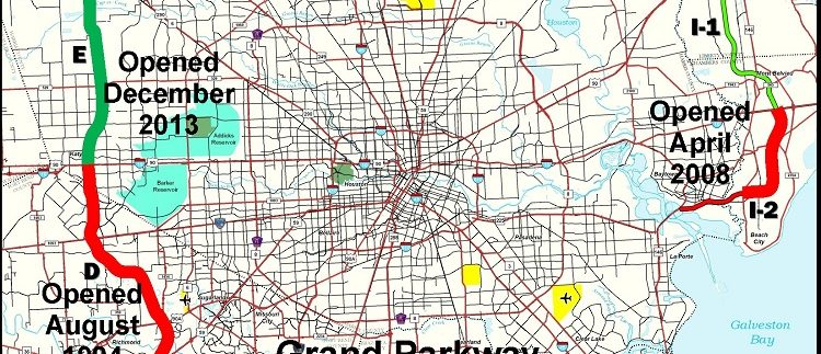 grand parkway map